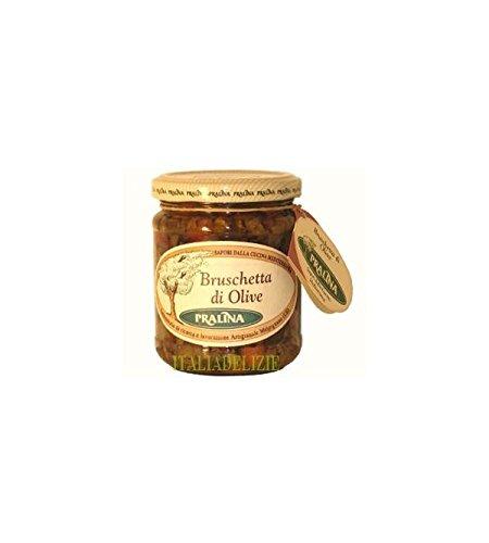 Bruschetta di olive nere e verdi 180GR