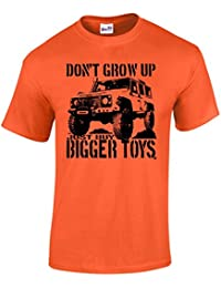 T-Shirt Homme Buy Bigger Toys 4x4 4wd T-Shirts