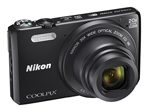 Nikon COOLPIX S7000 Digital Camera with 20x Optical Zoom and Built-In Wi-Fi