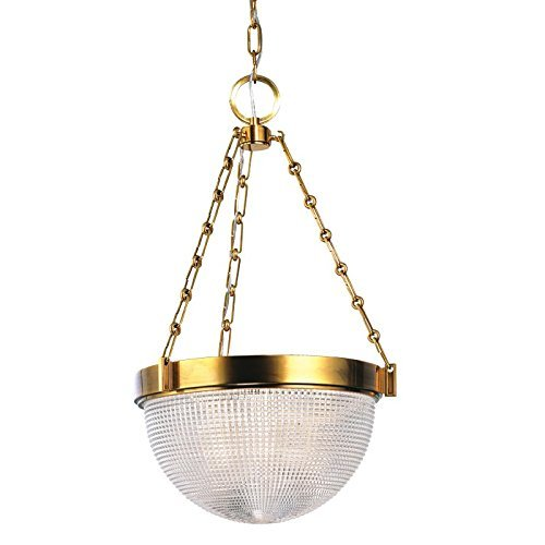 hudson-valley-lighting-winfield-2-light-pendant-aged-brass-finish-with-clear-pressed-prismatic-glass
