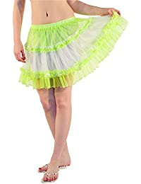 Women Sexy Layered Soft Sheer Frills Skirt Ladies Lovely Skirt