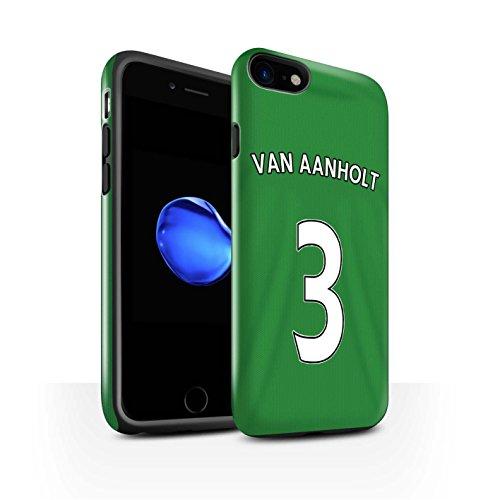 Offiziell Sunderland AFC Hülle / Glanz Harten Stoßfest Case für Apple iPhone 7 / Larsson Muster / SAFC Trikot Away 15/16 Kollektion Van Aanholt
