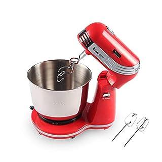 Astan Hogar Mixer Bowl Küchenmaschine Rot