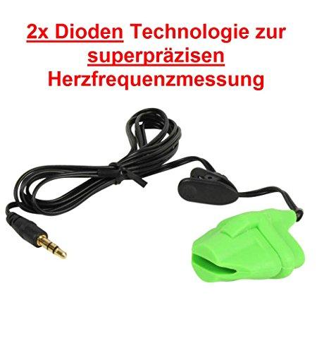 Preisvergleich Produktbild FINGERCLIP mit 2x Dioden Technologie zur superpräzisen Herzfrequenzmessung für KETTLER, Alternative zu OHRCLIP für Pulsmessung an KETTLER Geräten / Herzfrequenzmessung Cardio ear Puls clip / Pulsmesser