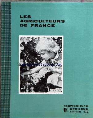 AGRICULTEURS DE FRANCE (LES) [No 8] du 01/09/1966