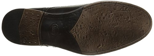 Base London Napier, Herren Slipper Schwarz (hi Shine Black)