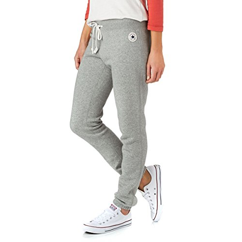 Converse Damen Trainingshose GF Core Slim Pant grau meliert - XL (Short Star All Damen)