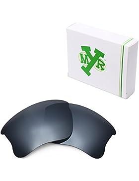 MRY polarizadas gafas de sol lentes de repuesto para Oakley Flak Jacket XLJ (–opciones