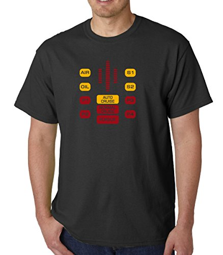 Kitt Dashboard t-shirt from Knight Rider (XLarge)