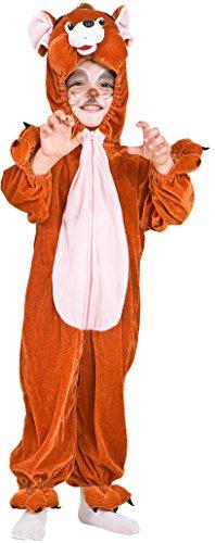 COSTUME di CARNEVALE da TOPO GERRY vestito per neonato bambino 1-4 Anni travestimento veneziano halloween cosplay festa party 2026 Taglia 3