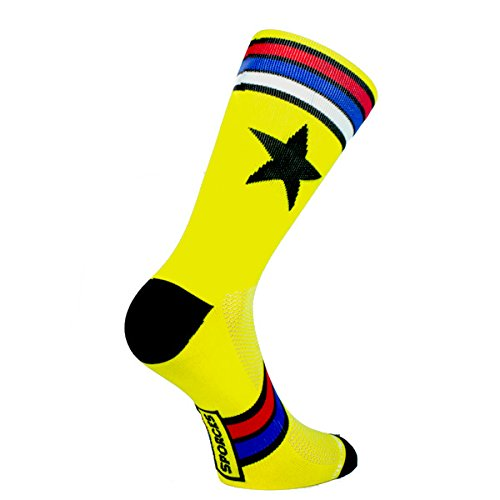 sporcks-cycling-socks-ultra-light-single-fibre-serra-da-estrela-yellow-light-breathable-comfortable-