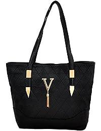 Mark & Keith Women Black Handbag (MBG 0495 BK)