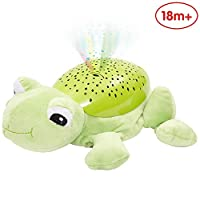 ANIKI TOYS Hippo Plush Projection Soother, New-Born Soft Light Projector White Noise Toy-butterfly
