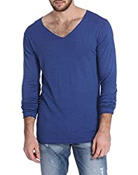 Jack & Jones Mens Cotton Cardigan (5712834660729_Blue_X-Large)