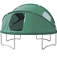 10 foot trampoline tent. for imaginative play, picnics, and making a den.
