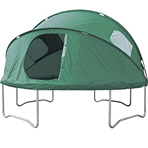 12ft trampoline tent. for imaginative play, picnics, and making a den!