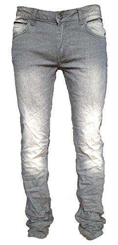 Tiffosi -  Jeans  - Attillata  - ragazzo grigio 10 anni