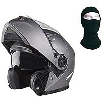 NOX casco modulable, titanio, talla M