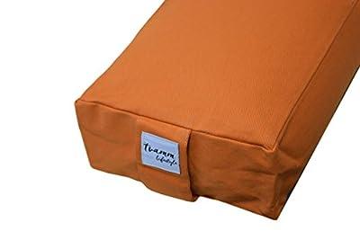 Yoga-Bolster Special , 65 x Ø 22 cm, Buchweizenschalen-gefüllt