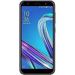Asus Zenfone Max Pro M1 32Go Smartphone portable débloqué 4G (Ecran: 5,99 pouces - 32Go - Double Nano-SIM - Android) Deepsea Black (Bleu Foncé/Noir)
