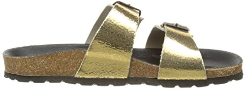 Pastelle Cleo, Mules femme Or