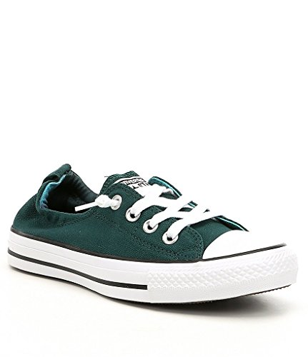 Teal Womens Schuhe (Converse Women's Chuck Taylor Shoreline Slip Casual Shoe, Teal/White/Black- 7 B(M) US)