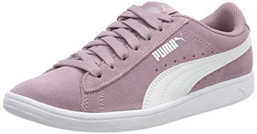 Puma Mädchen Vikky Jr Sneaker, Violett (Elderberry-Puma White), 39 ()