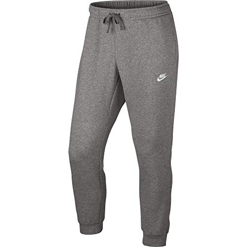 Nike Herren Jogger Fleece Club Trainingshose, Grau, Small (Fleece-gefütterte Trainingshose)