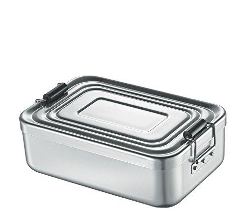 Küchenprofi 1001462418 Alu-Lunchbox, Silber