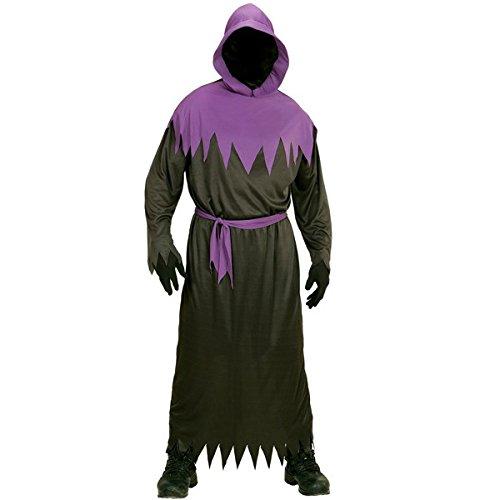 Dunkle Kostüm Phantom - Phantom Kostüm Phantomkostüm Sensemann Geist Scary Dunkler mit Kapuze Zombie, Größe:128