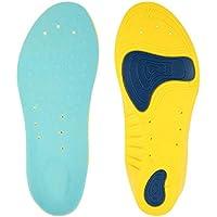 Massage Orthopädische Einlegesohle Gel Active PU Memory Foam korrigierenden Schuhe Flache Unterseite Einlegesohle... preisvergleich bei billige-tabletten.eu