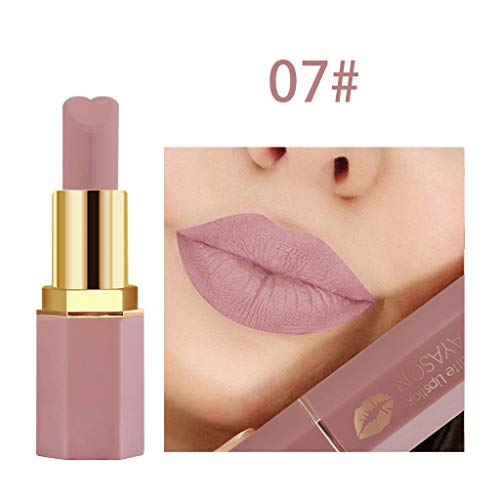 Cooljun Wasserdichte Langlebige Matte Flüssigkeit Lipgloss Lippenstift Kosmetik Make up