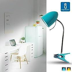 Aigostar 182298 - Lámpara de mesa tipo flexo con pinza de diseño retro