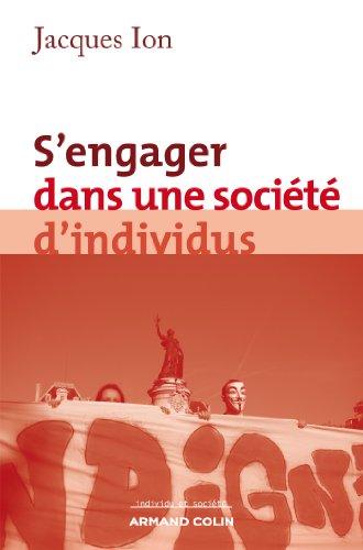 S'engager dans une société d'individus par Jacques Ion
