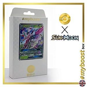 LURANTIS GX 12 /149 - #myboost X Sun & Moon 1 - Caja de 10 Cartas Pokémon inglesas