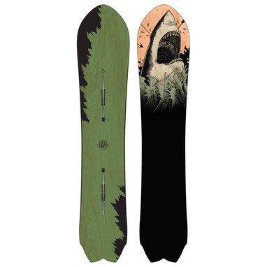 Burton Herren Freeride Snowboard Fish 156 (Burton Fish Snowboard)