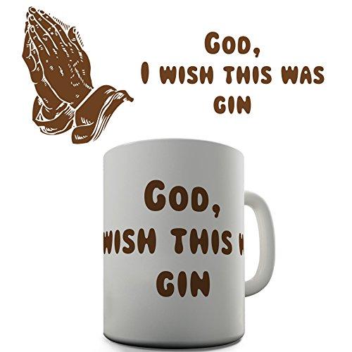 Twisted Envy I Wish This Was Gin Keramik Neuheit Geschenk Tasse