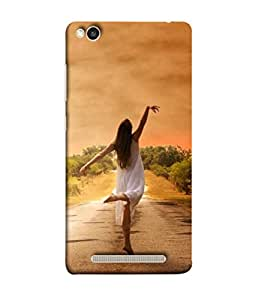 Xiaomi Redmi 3S Back Cover (Lifestyles Caucasian Happiness Vacation Lifestyle Daydream Beautiful Feelings) From Printvisa