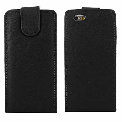 """ebestStar - pour Apple iPhone 6S 6 Plus écran 5,5"""" - Housse Coque Etui Flip Simili Cuir à Rabat vertical + Stylet tactile, Couleur Rouge [Dimensions PRECISES de votre appareil : 158.1 x 77.8 x 7.1 mm, Noir"""