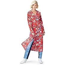 FIND Vestido Midi Cruzado Mujer