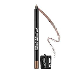 Buxom Hold the Line Waterproof Eyeliner Knock Twice - Metallic Deep Champagne 0.04 oz Brand New in Box,