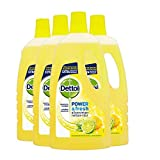 Dettol Allesreiniger Power & Fresh - Citrus - 1L x4