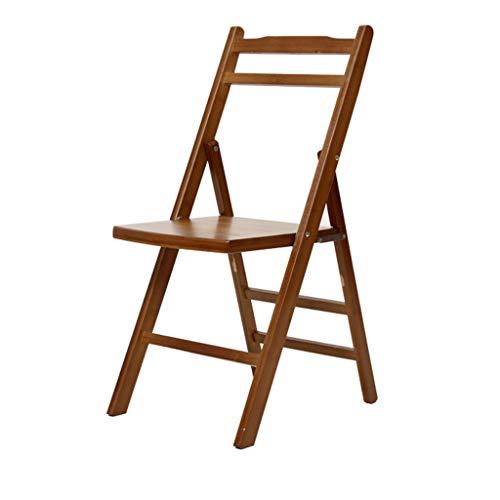 Tabouret - Chaise Pliante, Table à Manger et Chaise de ménage, Chaise en Bambou/Banc en Bois Minimaliste Moderne/Chaise Longue portative