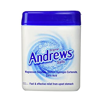 Andrews Original Salts Fast and Effective Relief from Upset Stomach, 250 g