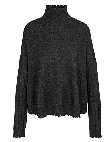 Marc Cain Sports Damen Pullover Mehrfarbig (Anthrazit 880)