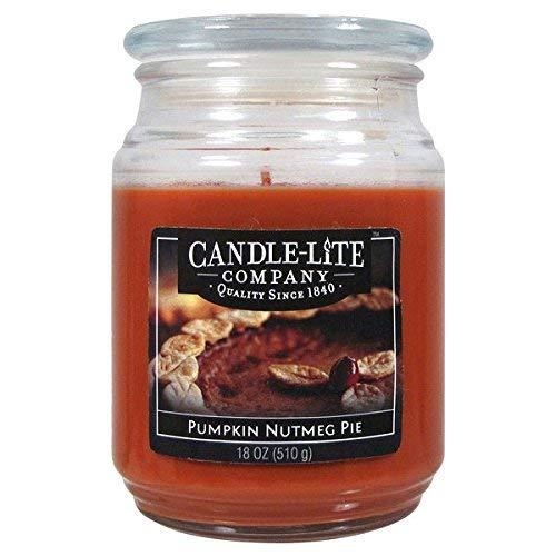 Candle-Lite Everyday Duft Kürbis Nutmeg Pie Molton Brown Jar, mittel 18oz, Multi (Multi-duft-kerze)
