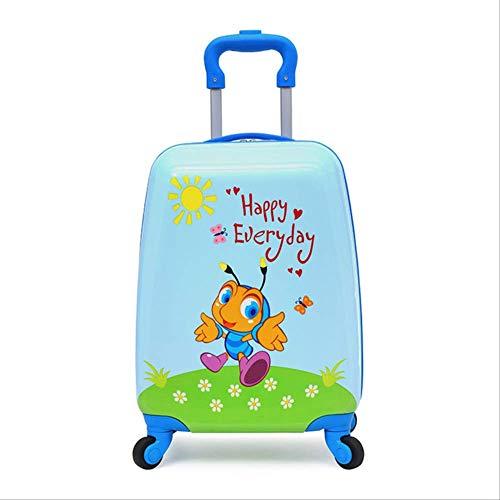 Valigia Per Bambini DXWF Bambini Valigia Bambini Viaggi Otrino Valigia Scatola Wheeled Suit Case Per Bambini Rolling Bagagli Valigia Valigia Bambino Bagaglio Valigia 29,28,21 cm Come mostrato