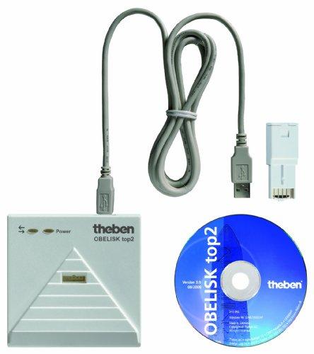 Preisvergleich Produktbild Theben 9070409 PC-Set Obelisk TOP2