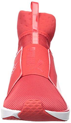 Puma Fierce Core, Chaussures de Fitness Femme, Noir High Risk Red/Puma White