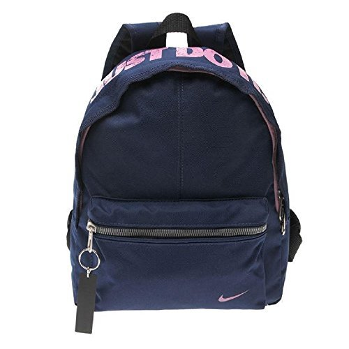Nike Young Athletes Classic BA Backpack, One Size, baby, Multicolor (LT Crimson / Chalk blue / White), One Size